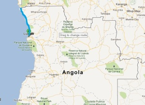 Luanda to Soyo