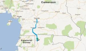 Oyem to Yaounde
