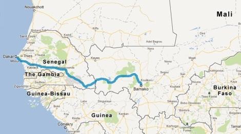 Bamako to Dakar