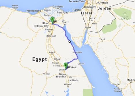 Cairo to Luxor