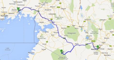 Nairobi to Jinja